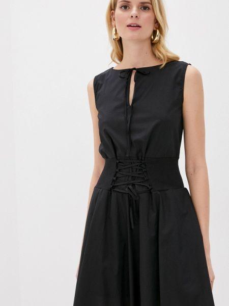 Платье - черное Giorgio Di Mare