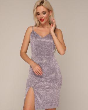 Вечернее платье на бретелях коктейльное Ellcora