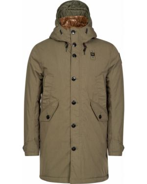 Хлопковая куртка - зеленая Blauer