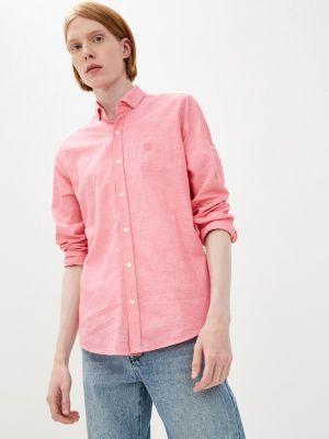 Розовая рубашка с длинным рукавом Jimmy Sanders