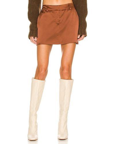 Шелковая юбка Amanda Uprichard
