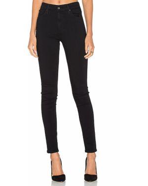 Klasyczne czarne jeansy bawełniane Ag Adriano Goldschmied