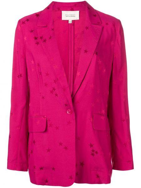 Розовая куртка Equipment