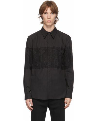 Koszula koronkowa - czarna Palomo Spain