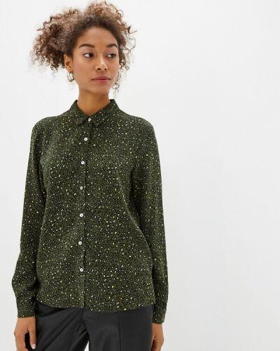 Блузка с длинным рукавом зеленый весенний Springfield