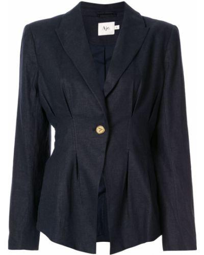 Однобортный удлиненный пиджак Aje