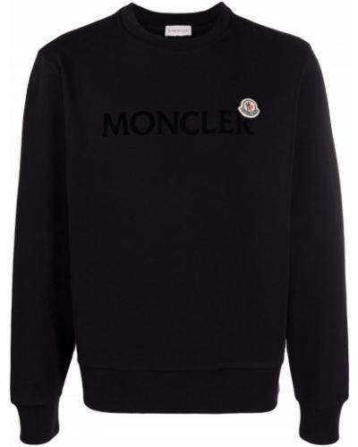 Bluza dresowa - czarna Moncler
