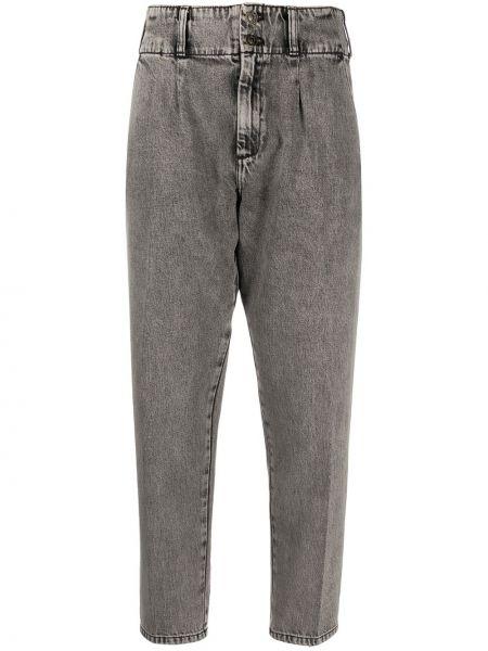 Укороченные брюки зауженные с поясом Current/elliott