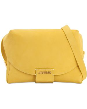 Кожаная сумка поясная замшевая Jacquemus