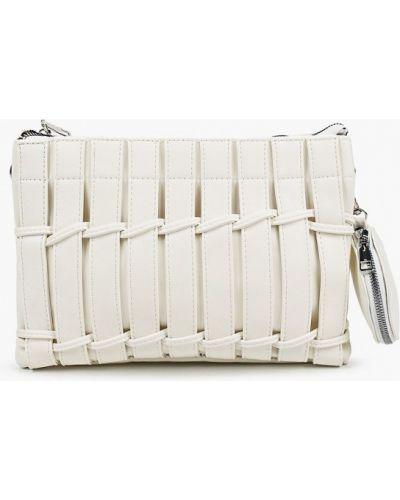 Белый кожаный кошелек Izabella