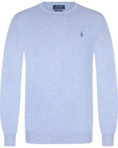Свитер хлопковый с логотипом Polo Ralph Lauren