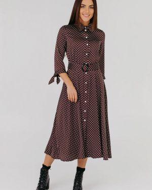 Платье - коричневое Vsv