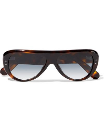 Okulary z printem - brązowe Acne Studios