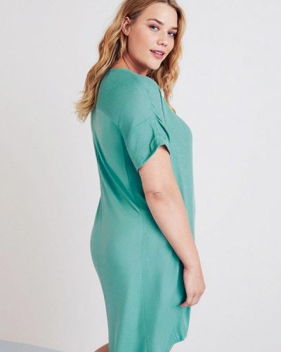Платье футболка осеннее Violeta By Mango