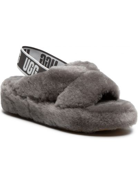 Sandały skórzane - szare Ugg