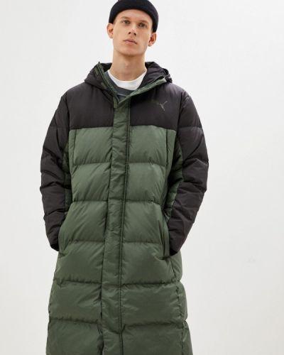 Зеленая куртка Puma