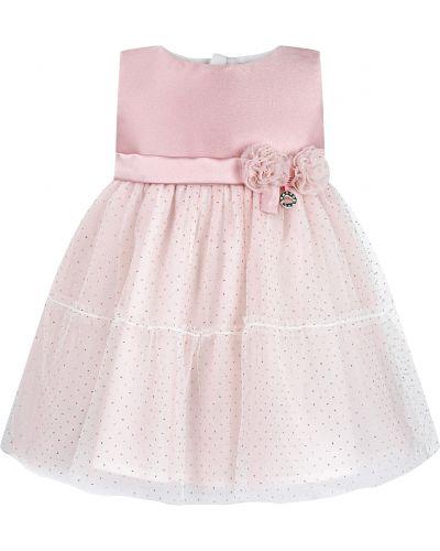 Нарядное розовое платье Mayoral