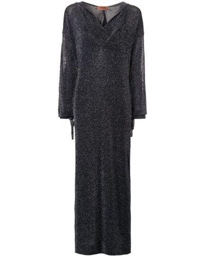 Платье с запахом с капюшоном Missoni