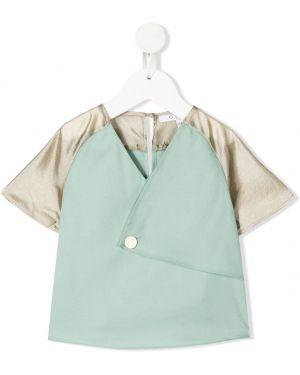 Зеленая блуза Owa Yurika