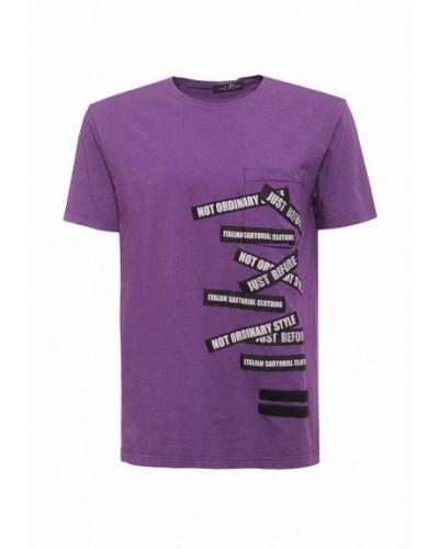Фиолетовая футболка J.b4