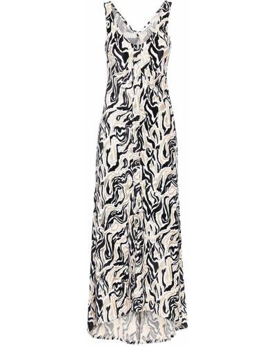 С ремешком платье макси свободного кроя из вискозы Paco Rabanne