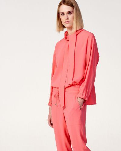 Блузка свободного кроя - розовая Laurèl
