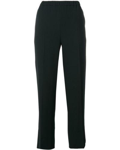 Укороченные брюки с карманами с поясом Antonelli