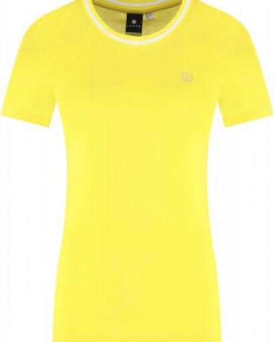 Футболка из вискозы - желтая Luhta