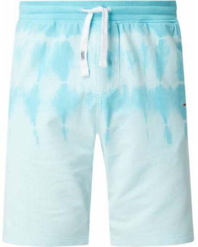 Bawełna bawełna niebieski dżinsowe szorty z kieszeniami Tommy Jeans