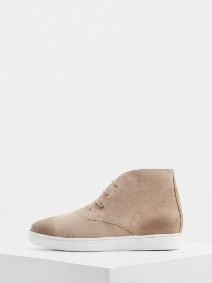 Бежевые кожаные ботинки Nando Muzi