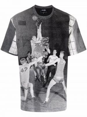 Biała koszulka z printem Just Don