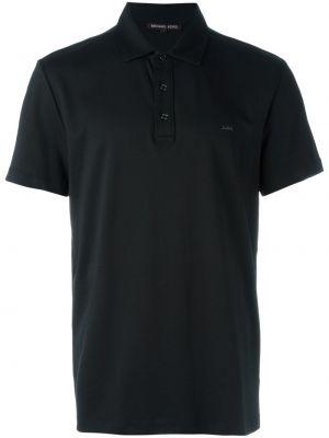 Хлопковая черная футболка Michael Kors