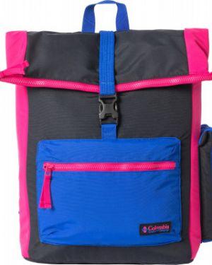 Нейлоновый спортивный черный рюкзак для ноутбука на бретелях Columbia