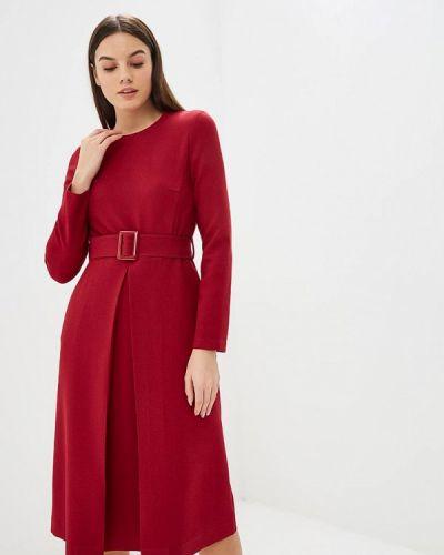 Платье бордовый красный Villagi