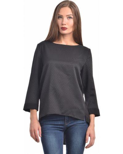 Блузка из полиэстера - черная Armani Jeans