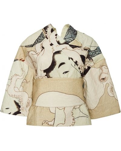 Свободная блузка с вырезом свободного кроя A.w.a.k.e.