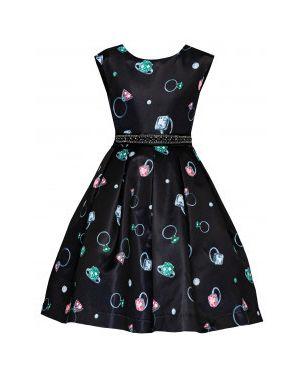 Платье на торжество из плотной ткани Gulliver Wear