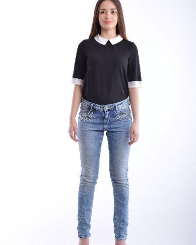Джинсы-скинни mom синие Gloria Jeans