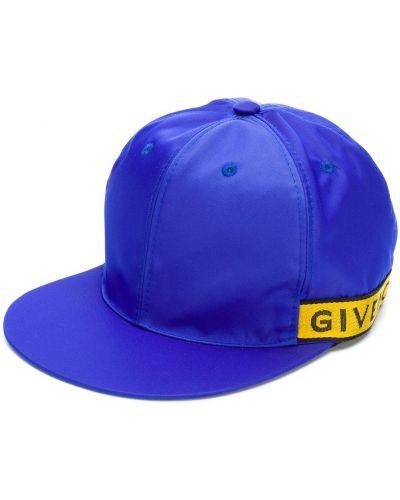 Niebieska czapka bawełniana Givenchy