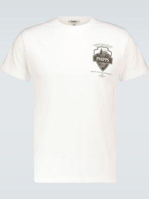 Ватная хлопковая белая рубашка Phipps