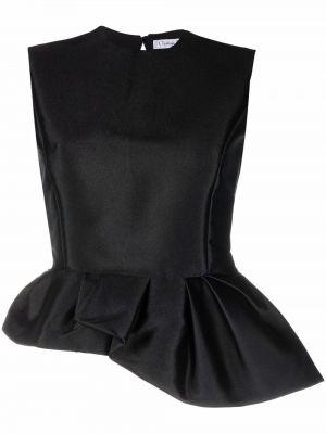 Czarna koszulka bez rękawów Christian Dior
