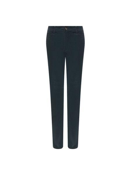 Прямые облегающие зеленые прямые джинсы вельветовые Ag