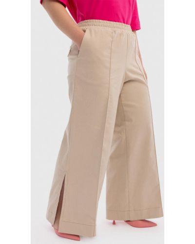 Прямые брюки - бежевые Lessismore