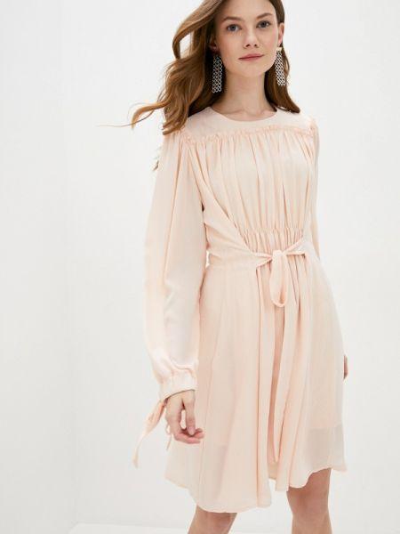 Бежевое платье Cavo