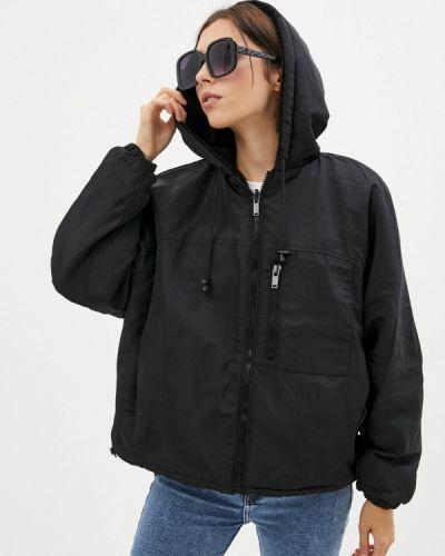 Черная демисезонная куртка Befree
