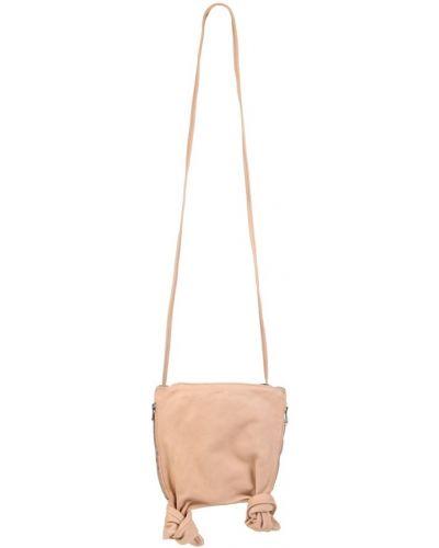 Różowa torba na ramię Guidi