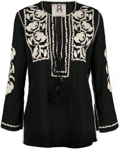 Блузка с декольте с вышивкой Figue