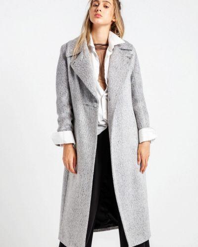 Пальто демисезонное серое Bgn