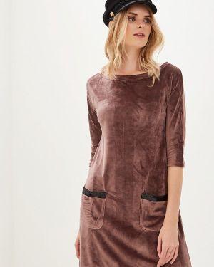 Платье - коричневое Lelio