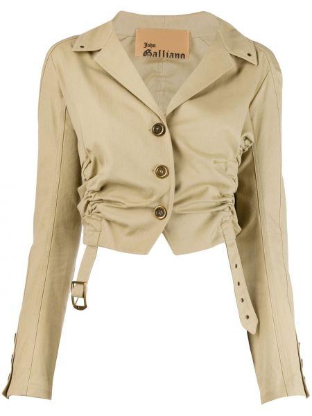 Короткая куртка с манжетами John Galliano Pre-owned
